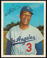1967 WILLIE DAVIS LOS ANGELES DODGERS DEXTER PRESS VINTAGE BASEBALL 5X7 CARD