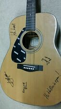 JOHN HIATT AUTOGRAPHED / SIGNED YAMAHA GUITAR - The Tiki Bar Is Open w/ pics cd