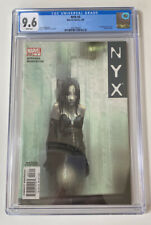 NYX #3 Comic Book 1st Appearance of X-23 Graded CGC 9.6
