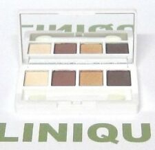 "CLINIQUE All About Eye Shadow Quad in ""03 MORNING JAVA"" 4 shades MINI"
