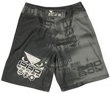 Bad Boy Matrix Fight Shorts (Gray) Size: Small