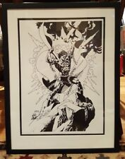 Exclusive Superman Comic Book Art LE 200  by Gil Kane Signed !! RARE Framed