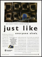 Silicon Graphics Inc - O2 Desktop Workstation_Orig. 1997 Print Ad / Advert_Sgi