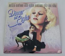 DINNER AT EIGHT - LASER DISC - DIGITAL SOUND  - BLACK & WHITE - JOHN BARRYMORE