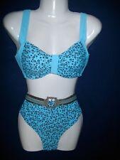 Bikini hellblau mit Pailletten von SIMONE Gr.40 C - NEUWARE
