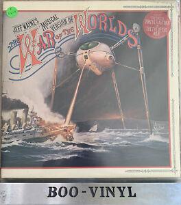 """JEFF WAYNE: War of the Worlds - original 1978 12"""" double vinyl LP & booklet"""