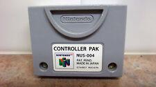 OEM N64 Original Nintendo 64 Controller Pak Memory Card NUS-004