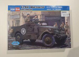 "HobbyBoss No. 82452   1:35 U.S. M3A1 ""White Scout Car"""