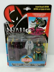 BATMAN THE ANIMATED SERIES GROUND ASSAULT CRIME FIGHTER EDITION FIGURE - KENNER