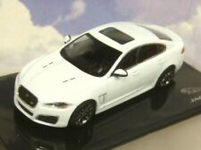 IXO 1/43 DIECAST JAGUAR DEALER MODEL 2012-15 JAGUAR XFR XF-R IN POLARIS WHITE