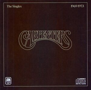 CARPENTERS : THE SINGLES 1969 - 1973 / CD - TOP-ZUSTAND