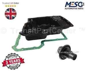 NEW OIL SUMP PAN & PLUG & GASKET FOR FORD TRANSIT MK6 MK7 2000-2014 2.4 RWD