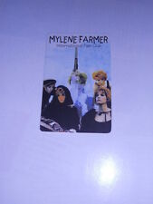"carte de membre (nominative) du ""Mylene Farmer International Fan Club"""
