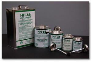 32oz HH66 HH 66 Vinyl Adhesive Glue Cement Boat Sail Repair PVC Hypalon Canvas