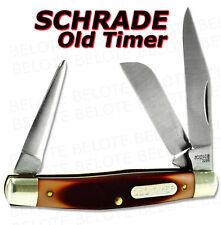 Schrade Old Timer Delrin Saddleman 3-Blade Knife 36OT
