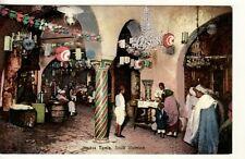 AFRICA   Tunisia  TUNIS   Souk Illumine / MARKET ILLUMINATED postcard