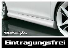 """VW Golf 3 III Cabrio """"GT"""" Seitenschweller Schweller Spoiler TÜV frei Side Skirts"""
