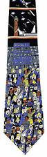 Baggage Claim Men's Neck Tie Airplane Airport Terminal Travel Gift  Necktie