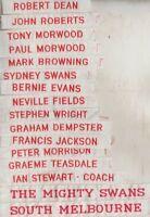 AFL SYDNEY  FOOTBALL CLUB    DUFFLE COAT NAME TAGS