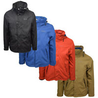 Your Mountain By Quechua 3 In 1 Fleece Lined Canvas Winter Jacket (Retail $120)
