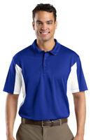 Sport-Tek Men's Big & Tall Dri Fit Golf Polo Shirt LT-4XLT. TST655