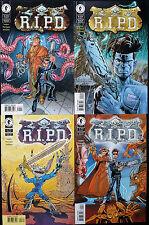R.i.p.d. (reste dans peace Department) 1 2 3 4 Dark Horse Comics Now motion picture