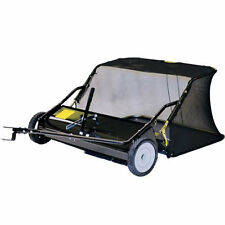 "Precision Products (48"") 15 Cubic Foot Tow-Behind Lawn Sweeper"