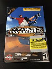 Tony Hawk's Pro Skater 3 (PC, 2002) CIB Complete Box Boxed