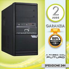 PC DESKTOP COMPUTER FISSO INTEL QUAD CORE 2.0GHZ RAM4GB/HD1000GB/DVD/HDMICOMPLET