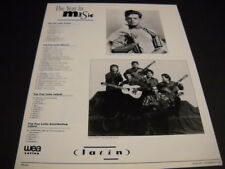 LUIS MIGUEL and GIPSY KINGS The Year In Music chart style 1993 PROMO DISPLAY AD