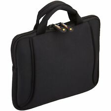Apple iPad 9.7 2018 Neoprene Handle Weather resistant Ultra Slim Case Bag Black