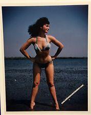 """Original Art Amsie """"Bettie Page"""" 8 X 10 photograph stamped (b.p.#07)"""