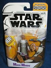 Star Wars 2005 Cartoon Network Clone Wars Mace Windu