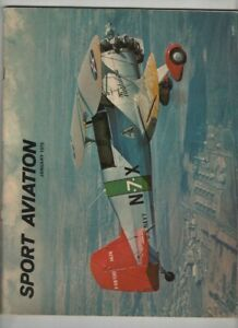 Sport Aviation Mag The HA-2 Sportster & DB Hawker II January 1975 120720nonr