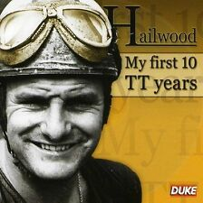 MIKE HAILWOOD CD: MY FIRST 10 TT YEARS.  MIKE HAILWOOD, PETER ARNOLD. DUKE 9935