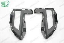 1Pair Front Bumper Fog Light Cover for Nissan Rogue 2017-2019