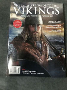 Centennial Legends Magazine Book Warriors Land Sea Complete Guide to the VIKINGS