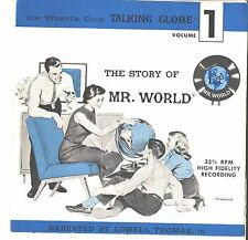 CHILDREN'S PICTURE SLEEVE + 45---(STORY OF MR. WORLD)---VG++