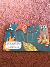Starbucks Card Fall 2016 Northern Ireland NI Collectible Unused NO Credit