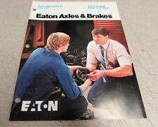 Eaton Failure Analysis Service Manual Drive Axle and Brakes EA-20 1983