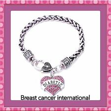 Diabetic medical alarm charm bracelet ( BC charity listing)💕