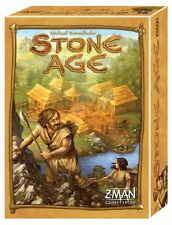 Stone Age [Board Game, Z-Man Games, Family, 2-4 Players, 60 Min, Ages 13+] NEW