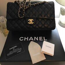 CHANEL Quilted Flapbag SAC RABAT Handbag Noir UNI #94305