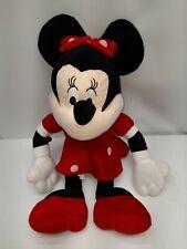 "New listing Minnie Mouse Plush 18"" Red Polka Dot plush Stuffed Toy"