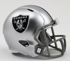 ***NEW*** OAKLAND RAIDERS NFL Riddell SPEED POCKET PRO Mini Football Helmet