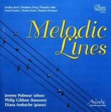 MELODIC LINES - OBOE, BASSOON AND PIANO NEW CD