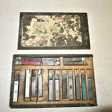 New listing Vintage Used 3/8 Square Carbide tipped Lathe Bits 17 Pieces
