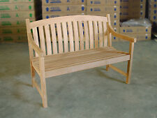 "Teak Bench - 48""/120cm - perfect for your dining table -  garden, outdoor, patio"