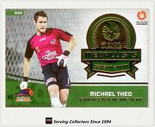 2013-14 SE A League Soccer Trading Card Medal Winner M8: Michael Theo