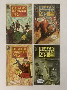 Black Hammer 45' #1-4 by Lemire/Fawkes and Kindt - Dark Horse Comics VF Full Set